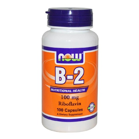 Now B-2 (100 mg),  Unflavoured  100 capsules