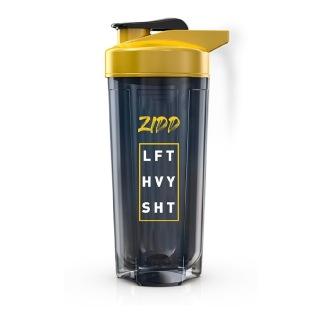1 - MuscleBlaze ZIDD Pro 1.0 Shaker,  Yellow & Black  750 ml