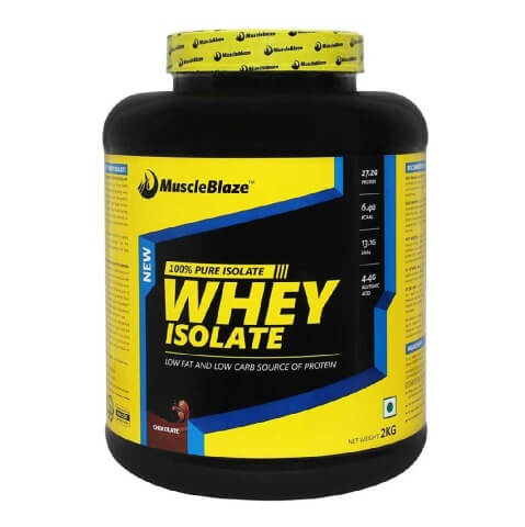 MuscleBlaze Whey Isolate Protein (2Kg, Chocolate)