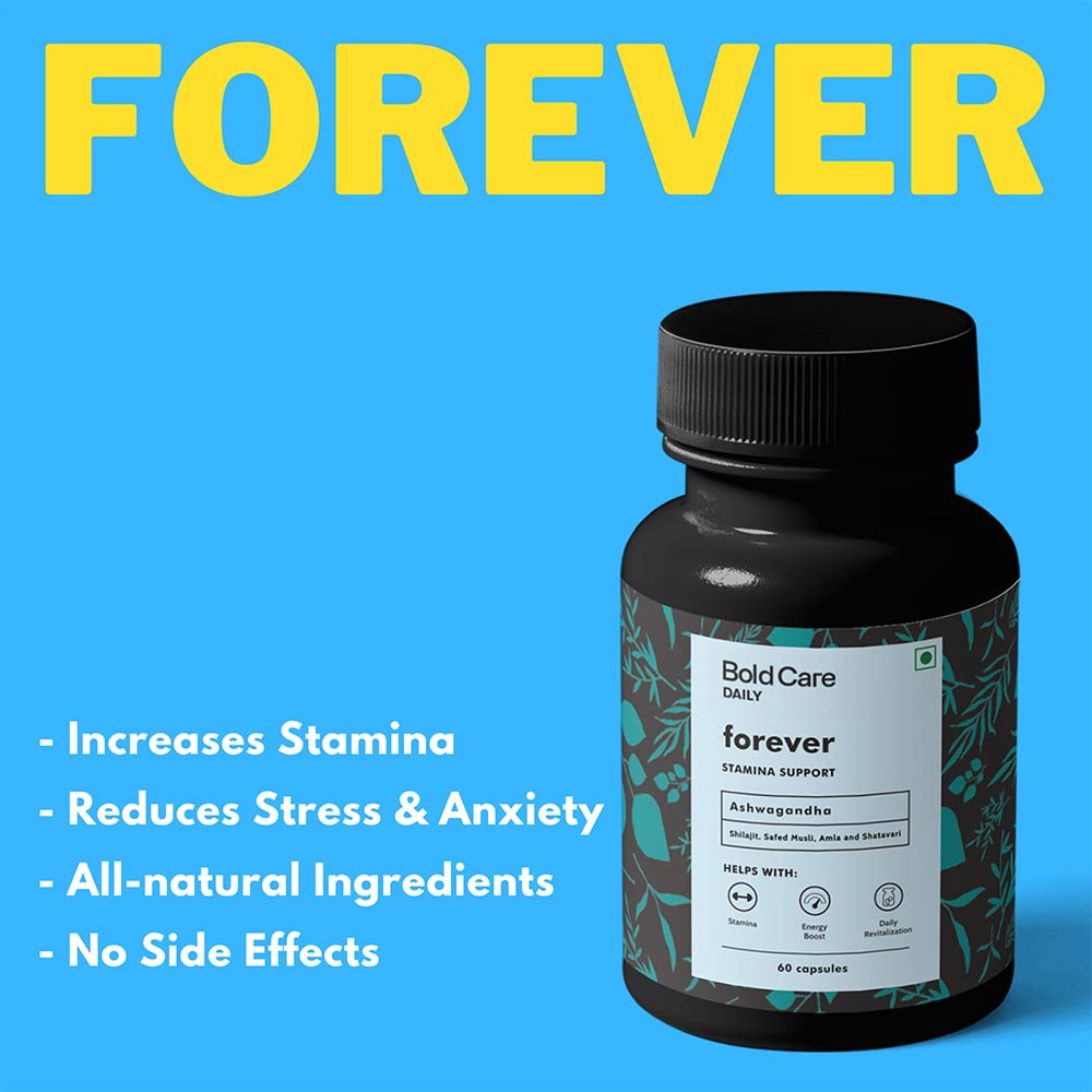 7 - Bold Care Forever,  60 capsules