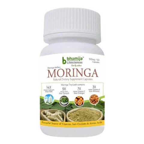 Bhumija Moringa,  60 capsules