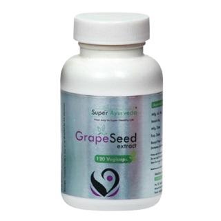 Super Ayurveda GrapeSeed Extract,  120 veggie capsule(s)