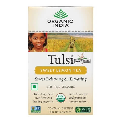Organic India Tulsi Sweet Tea,  Lemon  18 Piece(s)/Pack