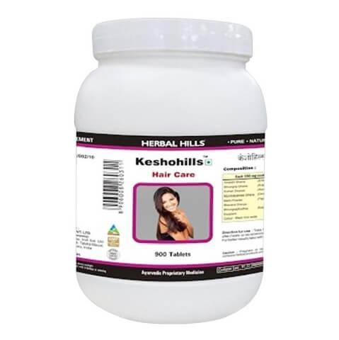 Herbal Hills Keshohills - Value Pack,  900 capsules