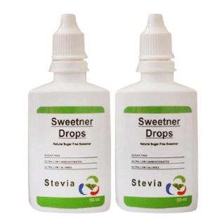 Healthfarm Stevia Sweetner Drops (Pack of 2),  50 ml