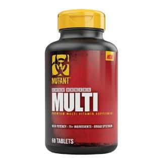 Mutant Multivitamin Supplement,  Unflavoured  60 tablet(s)