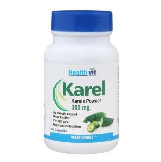 Healthvit Karel Karela Powder (300 mg),  60 capsules