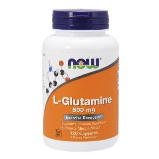 Now L-Glutamine (500mg),  120 capsules