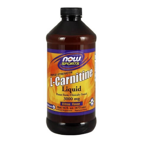 Now L-Carnitine Liquid (3000 mg),  0.473 L  Citrus
