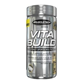 MuscleTech Vita Build,  60 caplets  Unflavoured