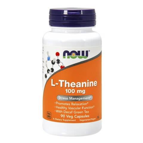 Now L-Theanine (100mg),  90 veggie capsule(s)