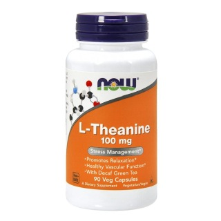 Now L-Theanine (100mg),  90 veggie capsule(s)