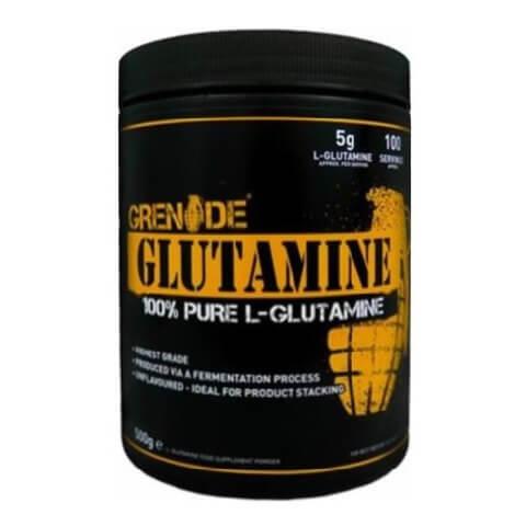 Grenade Glutamine,  1.1 lb  Unflavoured
