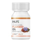 INLIFE Flaxseed Oil Omega 3,6,9,  60 capsules