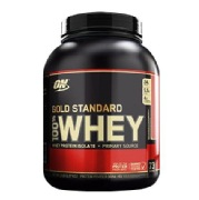 ON (Optimum Nutrition) Gold Standard 100% Whey Protein,  5 lb  Delicious Strawberry