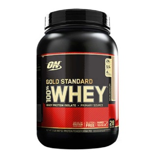 ON (Optimum Nutrition) Gold Standard 100% Whey Protein,  2 lb  Mocha Cappuccino