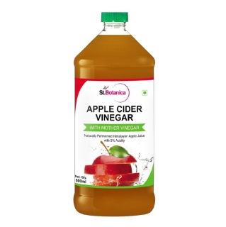 St.Botanica Apple Cider Vinegar,  0.5 L  Unflavoured
