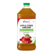 St.Botanica Apple Cider Vinegar,  0.5 L  Unflavoured