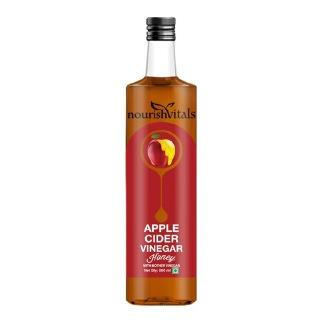 NourishVitals Apple Cider Vinegar with Mother,  0.5 L  Honey