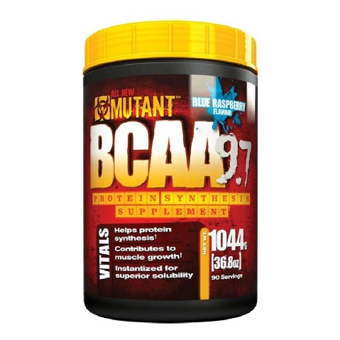 Mutant BCAA Powder,  2.3 lb  Blue Raspberry
