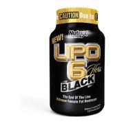 Nutrex Lipo 6 Black Hers,  120 Capsules