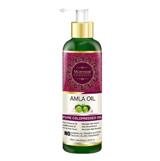 Morpheme Remedies Amla Oil,  120 ml  for All Hair Types