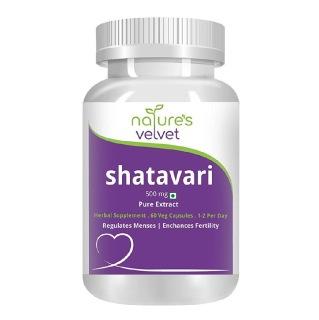 Natures Velvet Shatavari Pure Extract (500 mg)