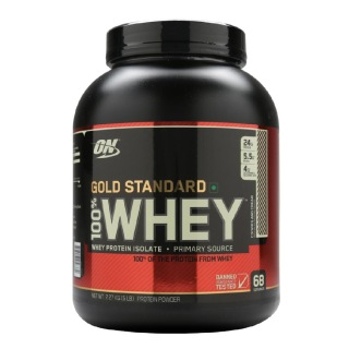 ON (Optimum Nutrition) Gold Standard 100% Whey Protein,  5 lb  Cookies & Cream
