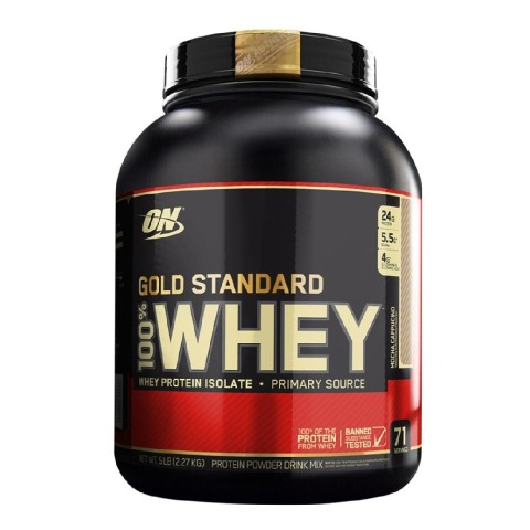 ON (Optimum Nutrition) Gold Standard 100% Whey Protein,  5 lb  Mocha Cappuccino