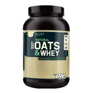 ON (Optimum Nutrition) Natural 100% Oats & Whey, 3 lb Vanilla Bean