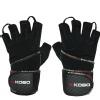 KOBO Gym Gloves (WTG-14),  Black  Small
