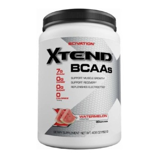 Scivation Xtend BCAA (Intra Workout Catalyst),  2.5 lb  Watermelon