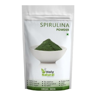 Holy Natural Spirulina Powder,  0.100 kg