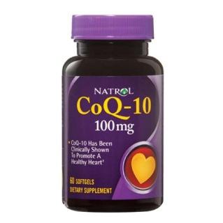 Natrol CoQ-10 (100 mg),  60 softgels