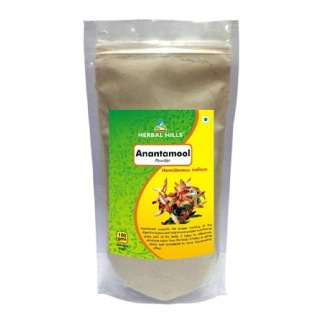 Herbal Hills Anantamool Powder,  0.2 kg