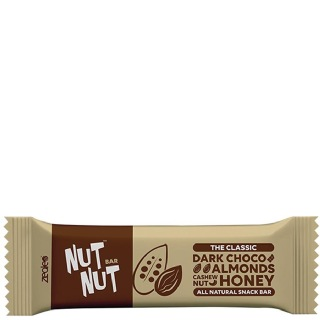 NutNut The Classic Snack Bar,  1 Piece(s)/Pack  Dark Choco Almond