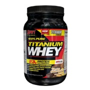 SAN 100% Pure Titanium Whey,  2 lb  Chocolate Graham Cracker