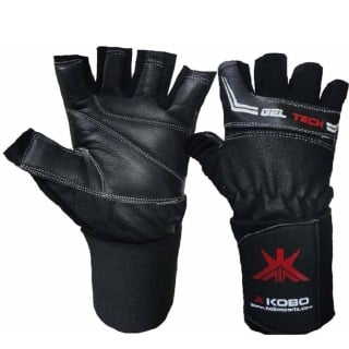 KOBO Gym Gloves (WTG-01),  Black  Small