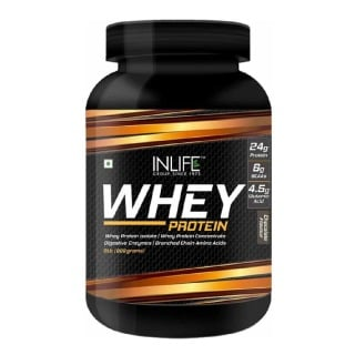 INLIFE Whey Protein Powder,  2 lb  Chocolate