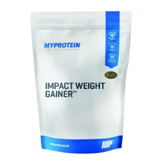 Myprotein Impact Weight Gainer,  5.5 lb  Strawberry Cream