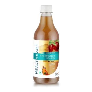 HealthKart Apple Cider Vinegar with Honey,  0.5 L  Honey OP