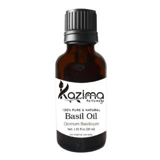 Kazima Basil Oil,  30 ml  100% Pure & Natural