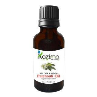 Kazima Patchouli Oil,  15 ml  100% Pure & Natural