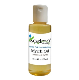Kazima Myrrh Oil,  100 ml  100% Pure & Natural