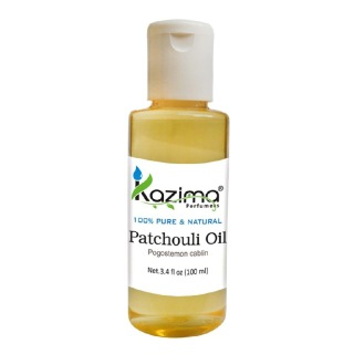 Kazima Patchouli Oil,  100 ml  100% Pure & Natural
