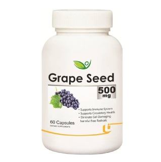 Biotrex Grape Seed (500 mg),  60 capsules