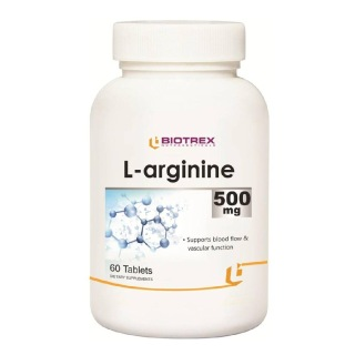 Biotrex L-Arginine (500 mg),  60 tablet(s)