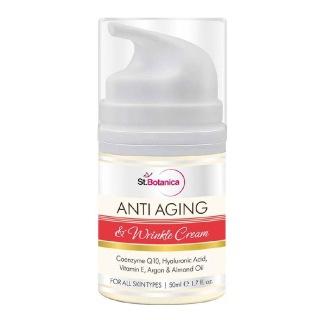 St.Botanica Anti Aging & Anti Wrinkle Cream,  50 ml  All Skin Type