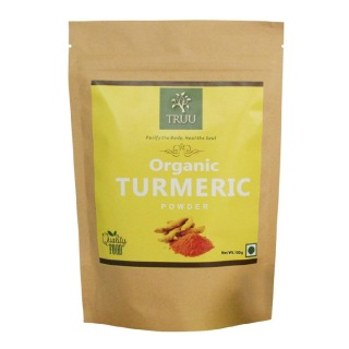Truu Organic Turmeric Powder,  0.100 kg