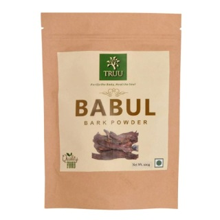 Truu Babul Bark Powder,  0.1 kg